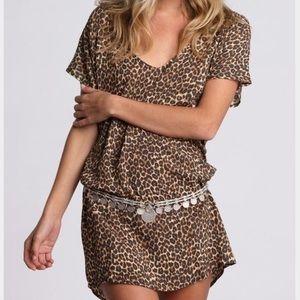 Acacia Rurutu Dress Animal Size Small